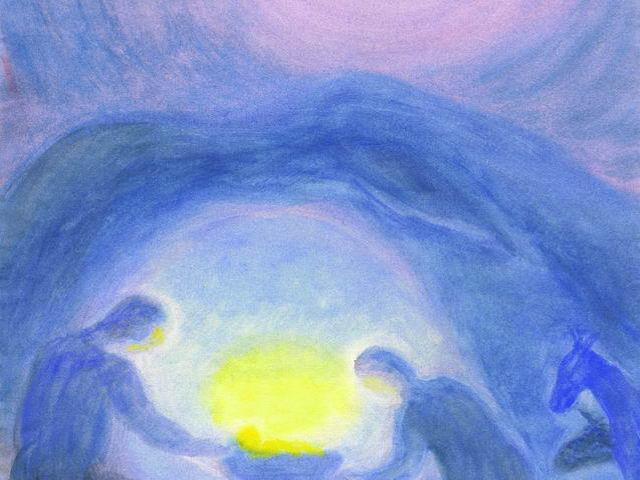 016: Maria und Joseph in Grotte (I)