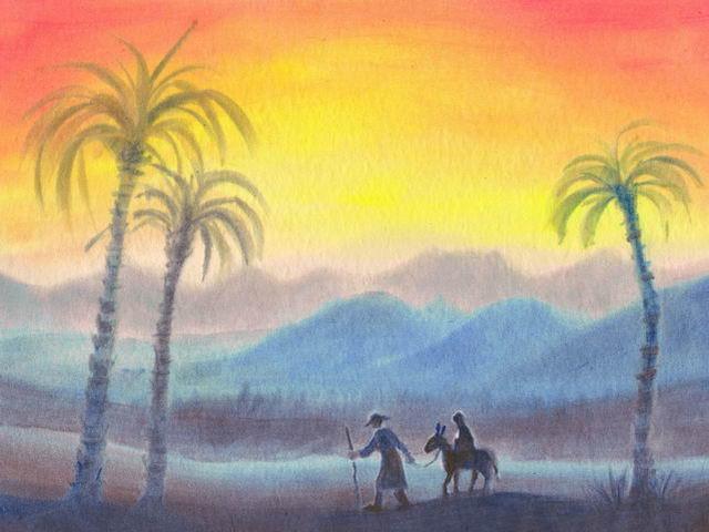 023: Flucht nach Ägypten
