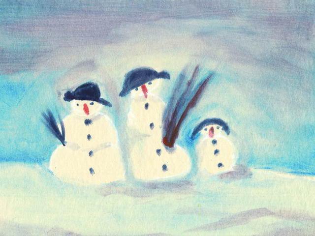 027: Schneemänner (I)