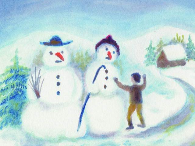 028: Schneemänner (II)