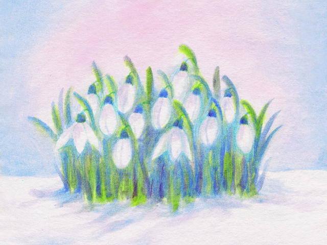 038: Schneeglöckchen