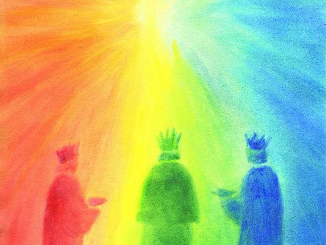 046: Drei Könige, Regenbogenfarben