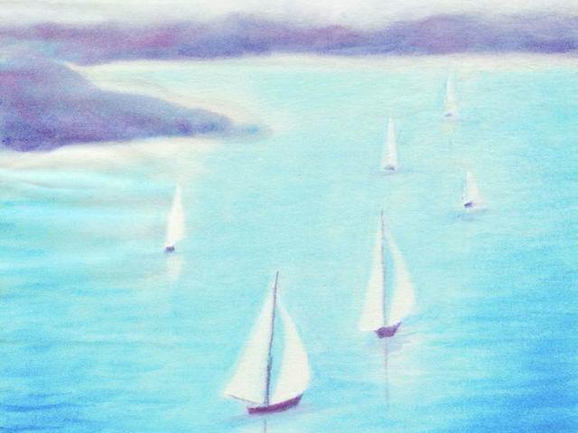 096: Segelboote auf der Förde