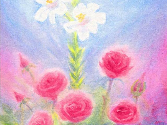 105: Rose und Lilie