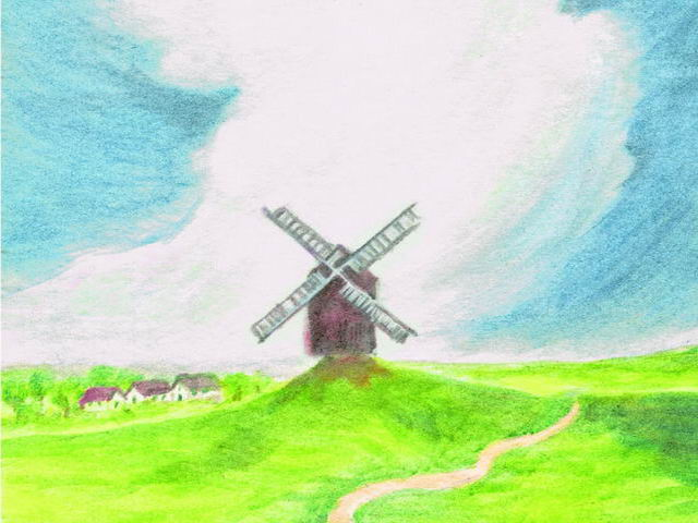 115: Windmühle, Wolke