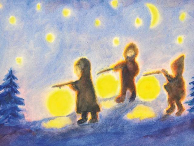 138: Kinder Laternenzug (III)