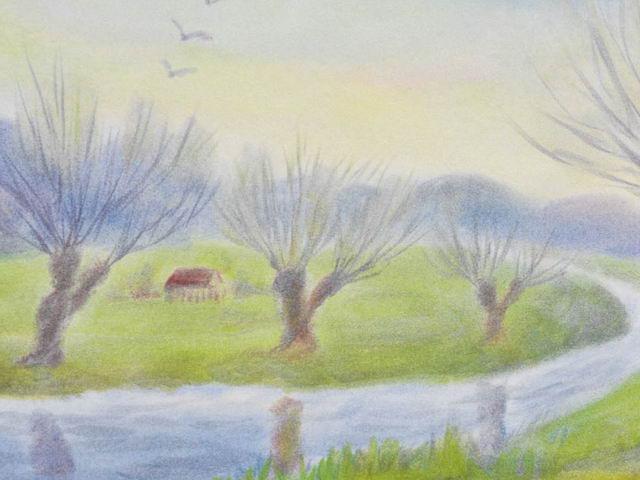 152: Vorfrühling, Bachweiden