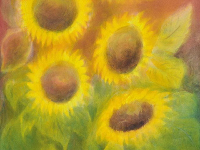 166: Sonnenblumen