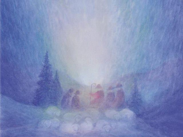 168: Die Hirten schauen die Gloria