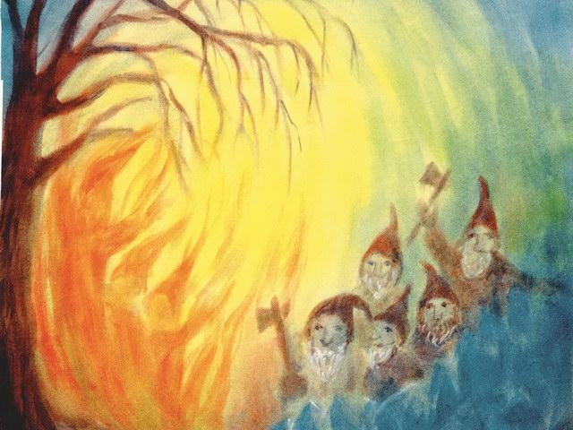 176: Zwerge und Feuerwesen