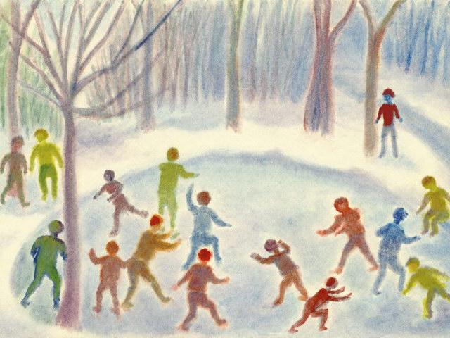 184: Schneeballschlacht