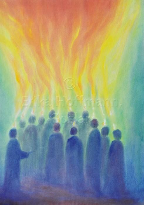 164_Menschen blicken zum Licht_farbig
