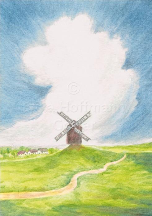 115_Windmuehle, Wolke