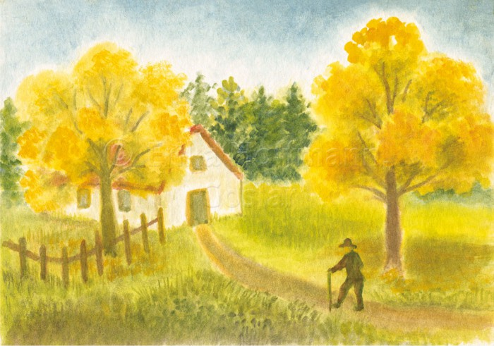132_Herbstwanderer, A