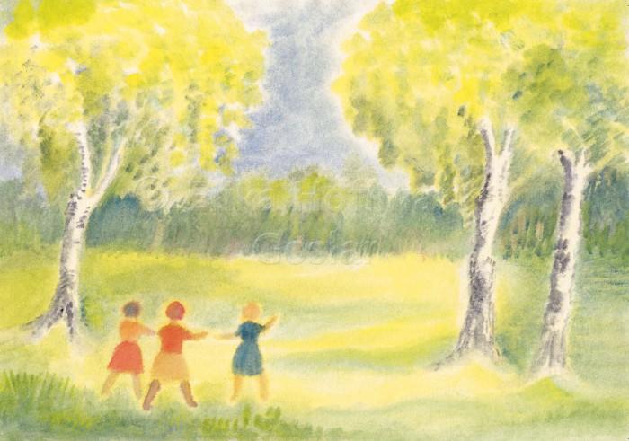 137_Kinder auf Birkenwiese
