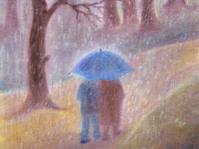 001: Regenspaziergang
