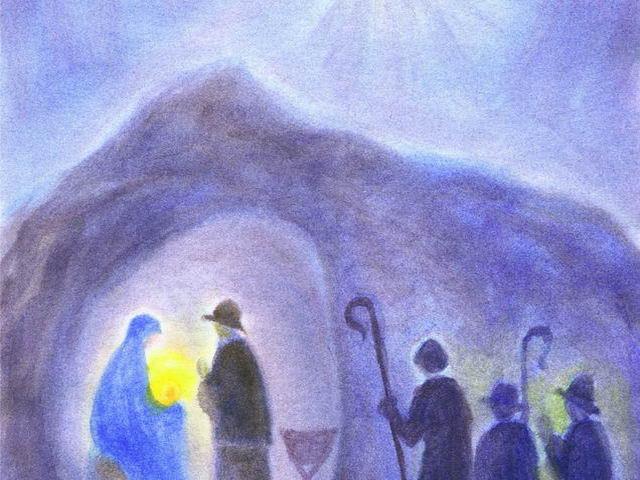 015: Hirten an der Grotte