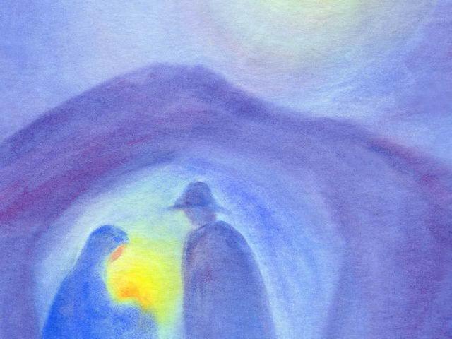 017: Maria und Joseph in Grotte (II)