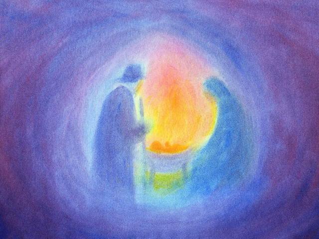 022: Maria und Joseph in Grotte (III)