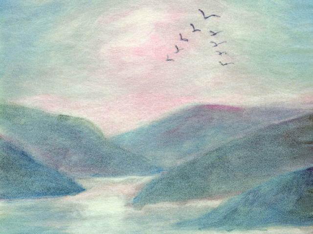 092: Meereshimmel, Zugvögel