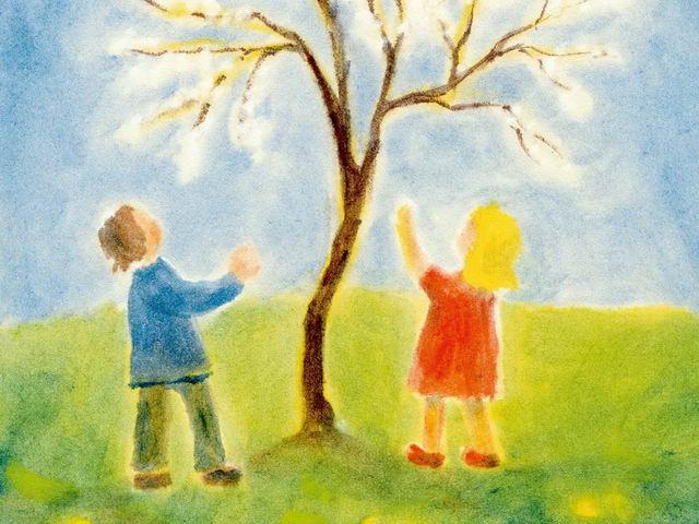 203: Kinder unter Baum